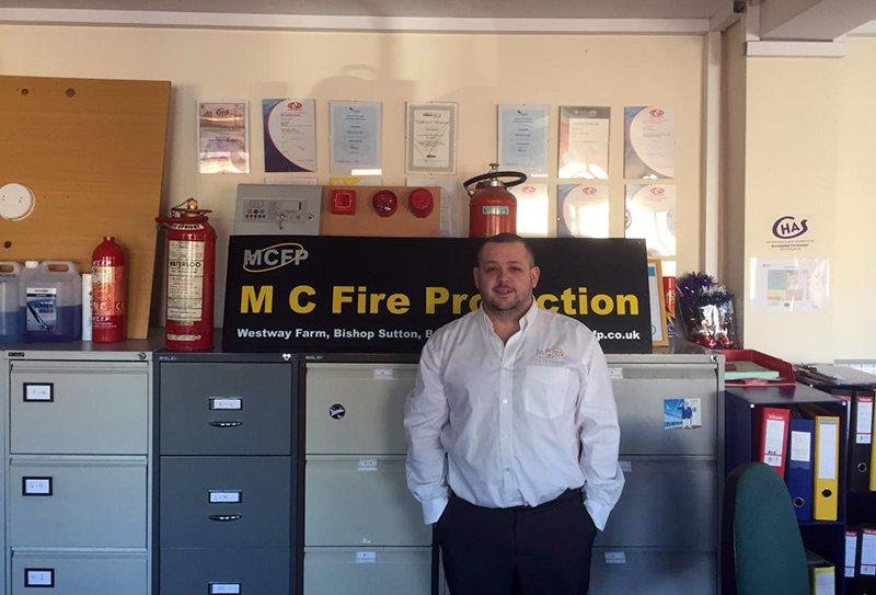 bristol mc fire protection team member Liam
